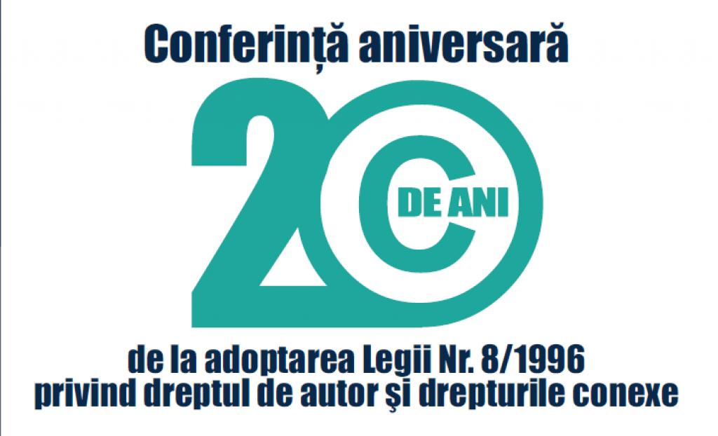 Conferința 20 ani de la Adoptarea Legii 8/1996