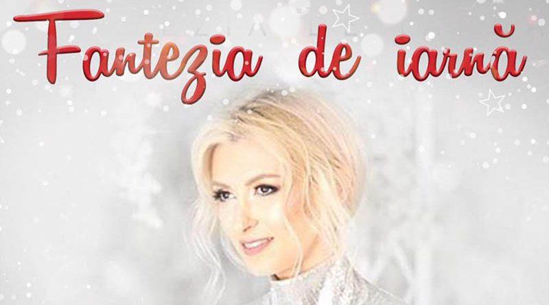 """Andreea Bălan lansează astăzi """"Fantezia de iarna"""" – un nou single special pentru sarbatori"""