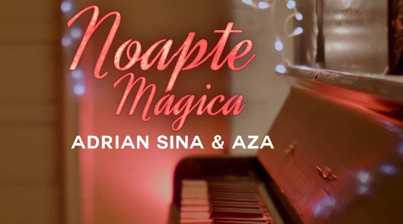 Adrian Sina si Aza creeaza impreuna un moment magic de sarbatori