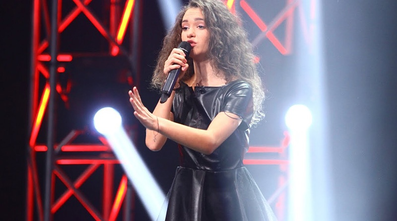 "Olga Verbitchi, premiata pe scena ""Sanremo Music Awards"""