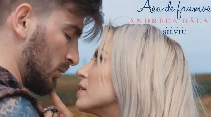 """Andreea Balan lanseaza piesa si clipul """"Asa de frumos"""", feat. Silviu"""