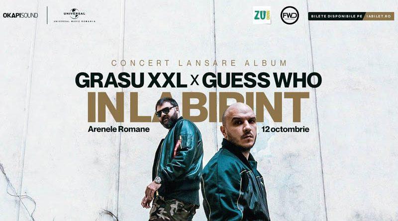 "Grasu XXL x Guess Who lanseaza videoclipul piesei ""Soareci in Labirint"""