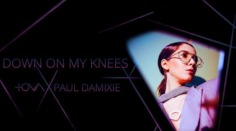 "IOVA, artista de muzica electro-pop, lanseaza ""Down On My Knees"", cu DJ-ul Paul Damixie"