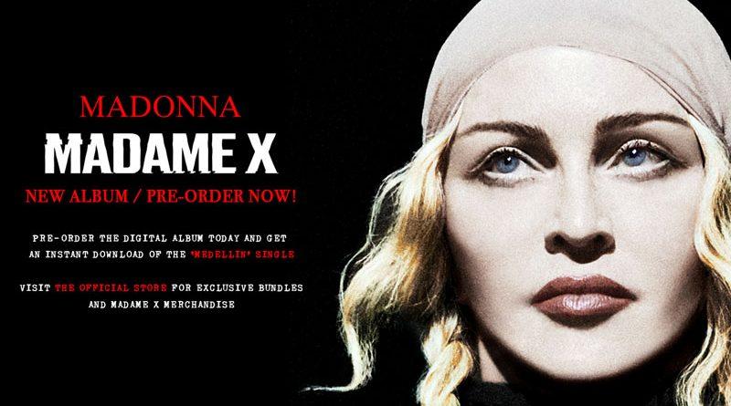 Madonna anunta lansarea mult asteptatului album MADAME X – al 14-lea material discografic din cariera