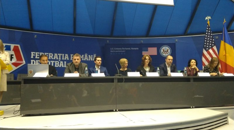 "UPFR a participat la evenimentul ""Reach for Gold: Intellectual Property and Sports"""