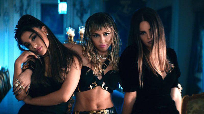 "Ariana Grande, Miley Cyrus și Lana Del Rey lansează piesa & videoclipul ""Don't Call Me Angel"""