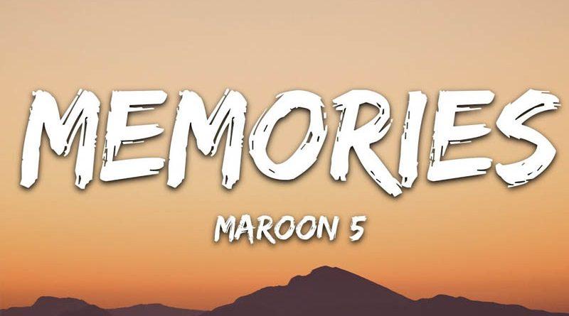 "Maroon 5 lansează videoclipul piesei ""Memories"""