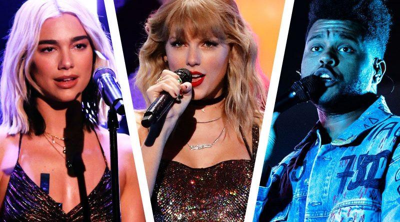 Taylor Swift, Billie Eilish, DaBaby, Justin Bieber si Post Malone, printre cei mai nominalizatiartisti la premiile Grammy 2021