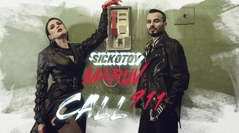 SICKOTOY lansează Call 911, o colaborare incendiară cu artista MARUV